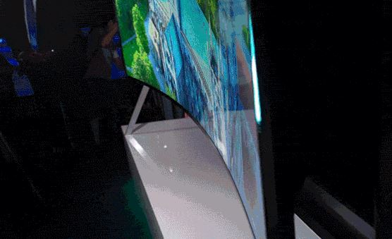 samsung tv flexivel