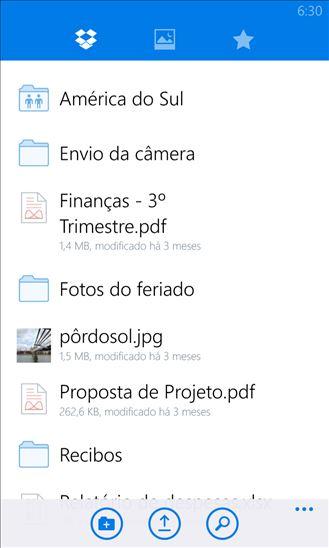 dropbox windows phone