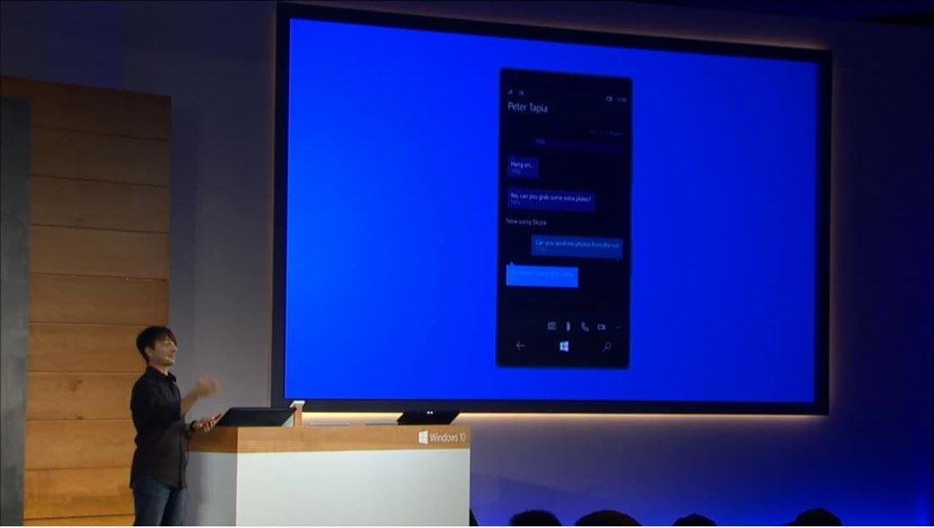 windows 10 mensagens