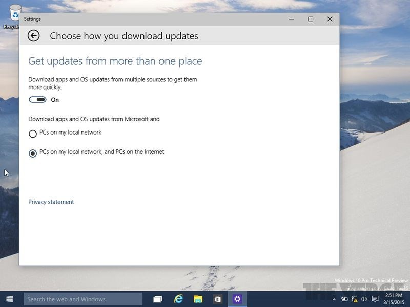 windows update p2p