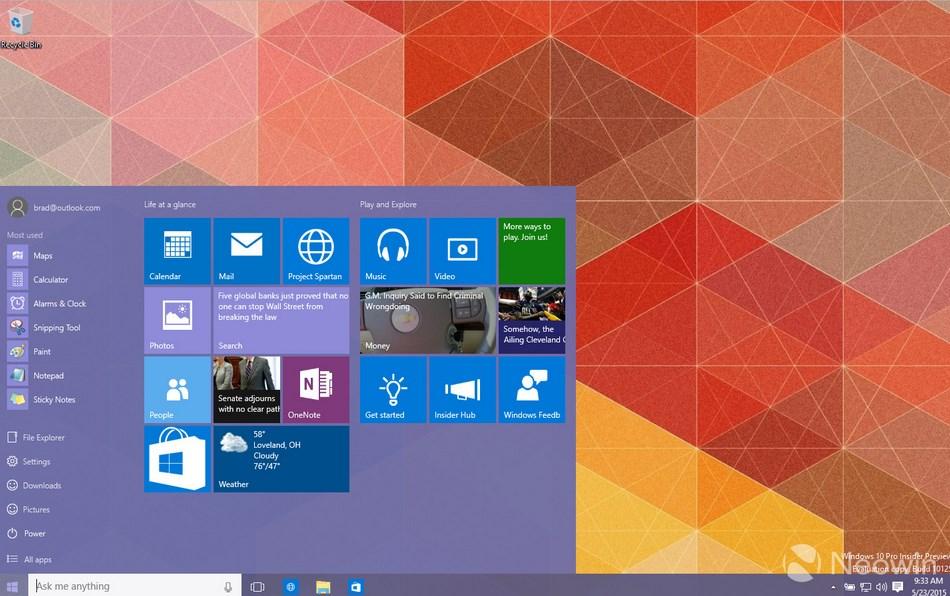 windows 10 nova build