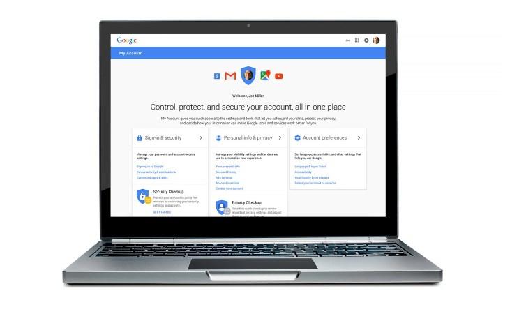 google segurança e privacidade
