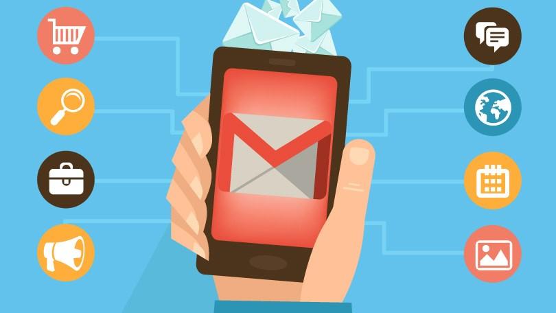 gmail envio emails