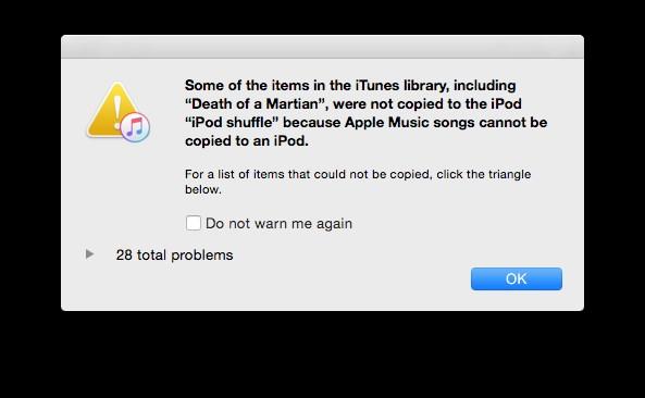 apple music erro