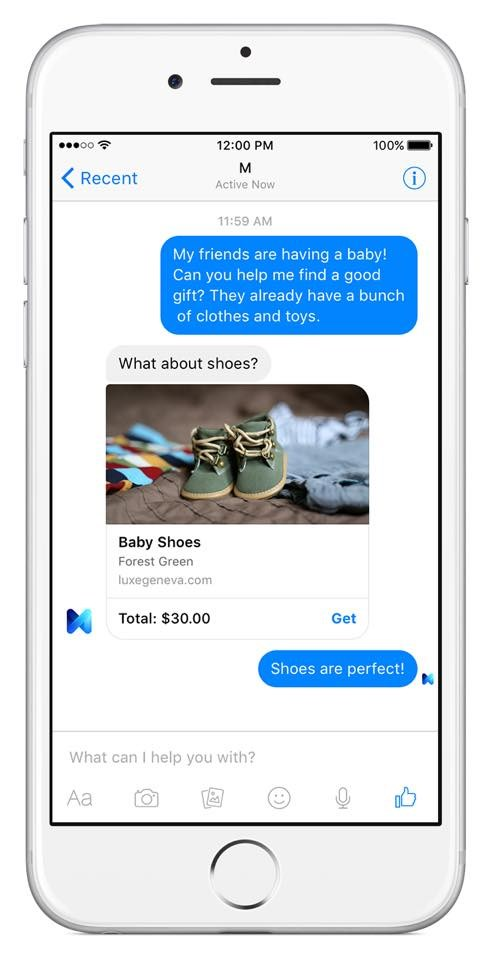 facebook messenger m