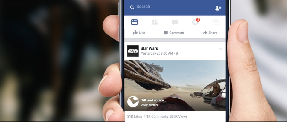 facebook videos 360