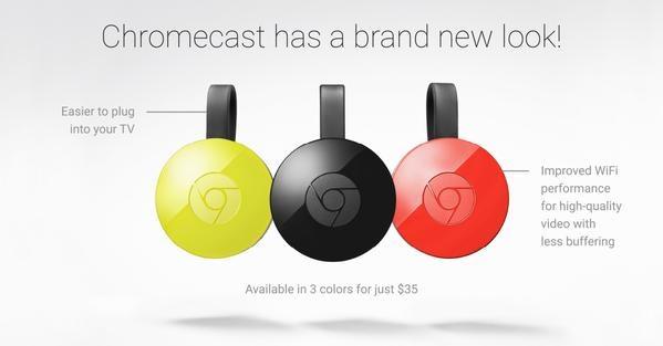 chromecast nova versão
