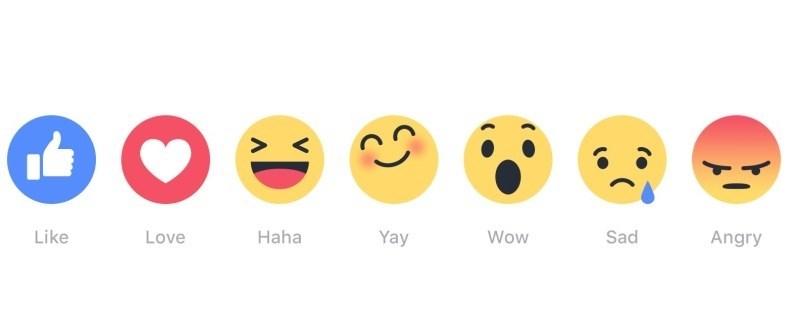 facebook não gosto emojis
