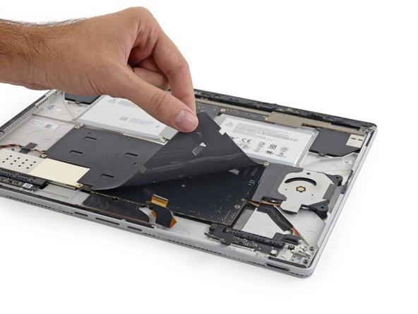 surface book Microsoft desmontagem