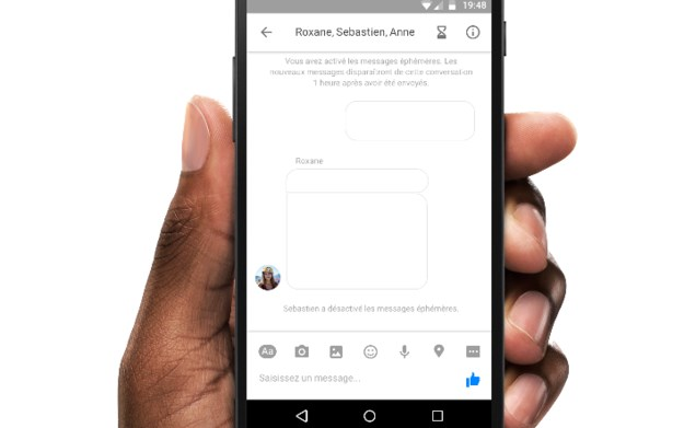 facebook messenger eliminação mensagem