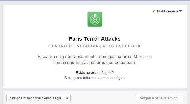 facebook segurança
