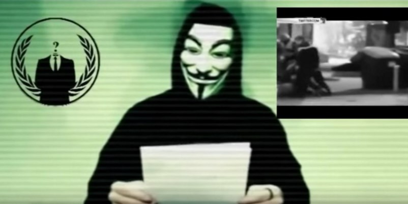 anonymous ataque ISIS