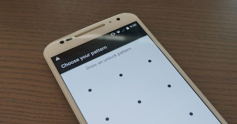 android padrão desbloqueio
