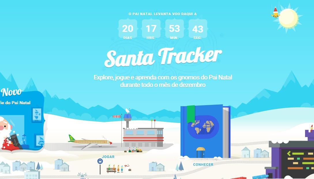 santa tracker google