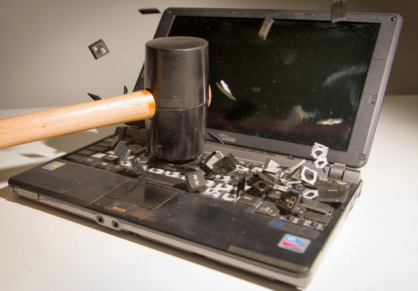 linux destruido