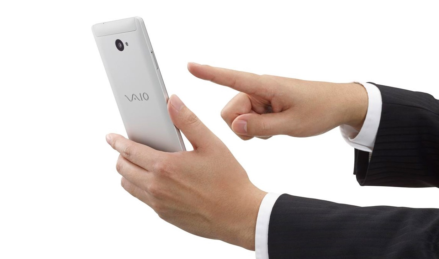 vaio smartphone windows 10