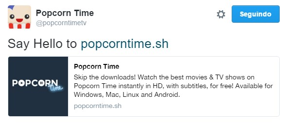 popcorn time twitter