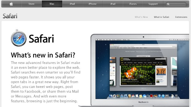 safari apple