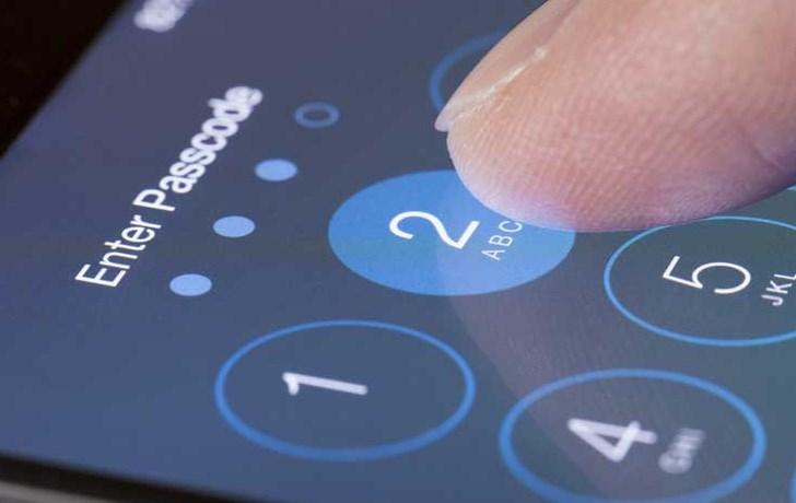 Código de protecção no iOS