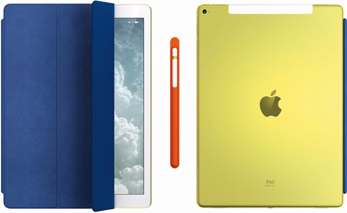 iPad Pro personalizado da Apple