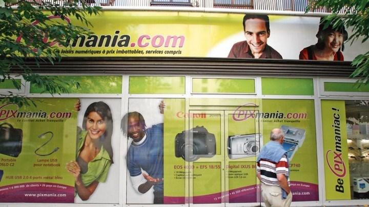 Loja da Pixmania em França