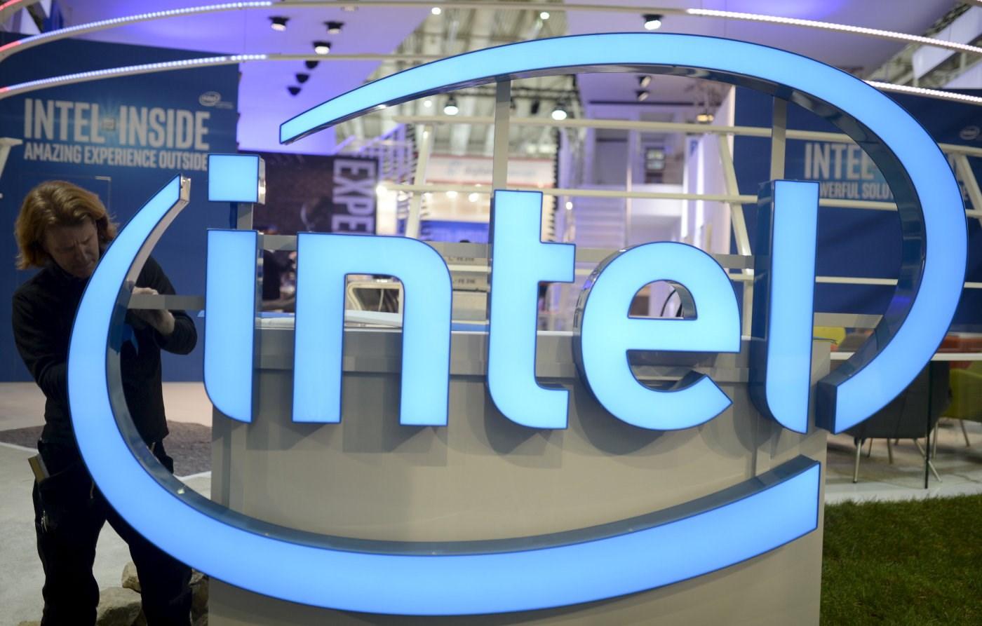Logótipo da Intel