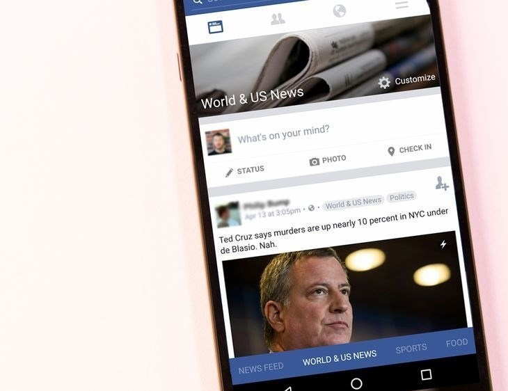 Feed do Facebook