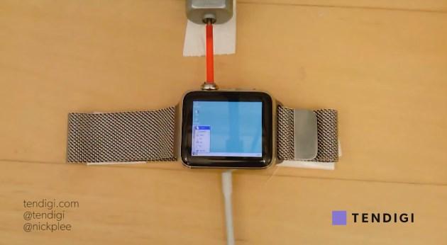Windows 95 no Apple Watch