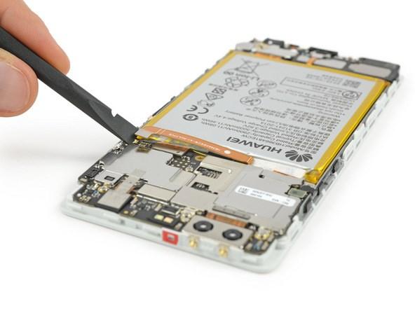 Huawei P9 interior