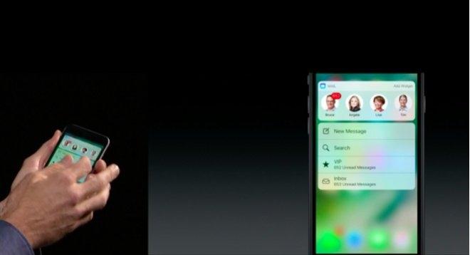 iOS 10 e o Touch 3D