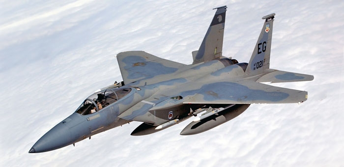Avião F-15