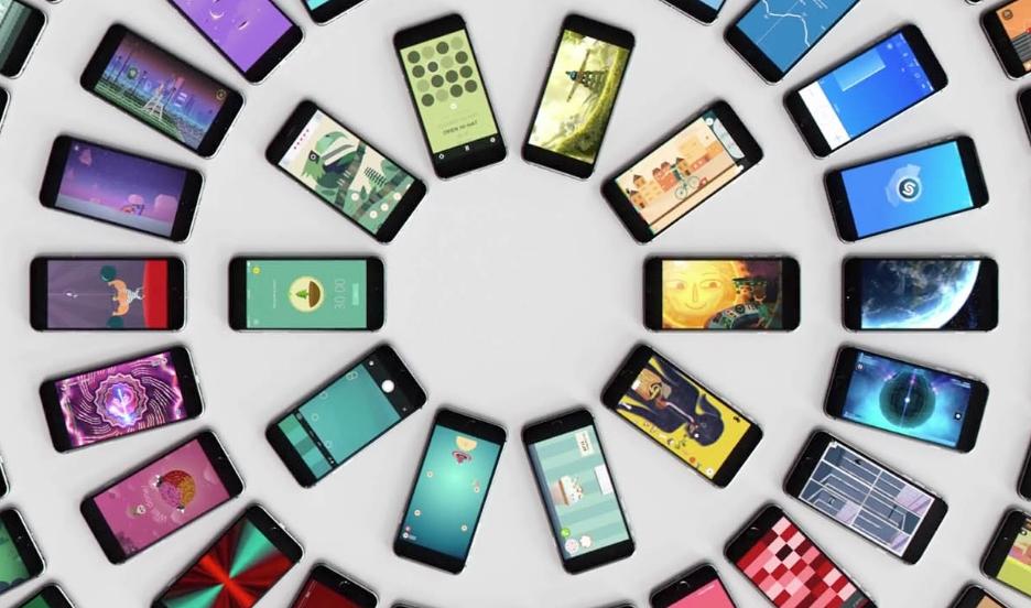Aplicações no iPhone