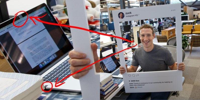 Mark Zuckerberg  e a privacidade no seu portatil