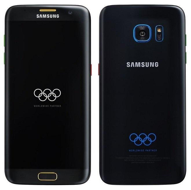Galaxy S7 Edge dos Jogos Olímpicos?