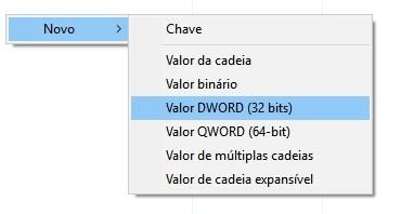 Valor DWORD