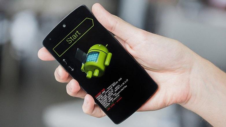 Android e falha no arranque