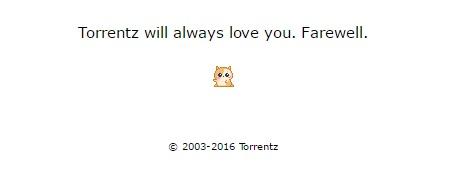 mensagem no torrentz