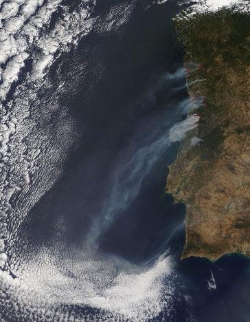 fogos em portugal