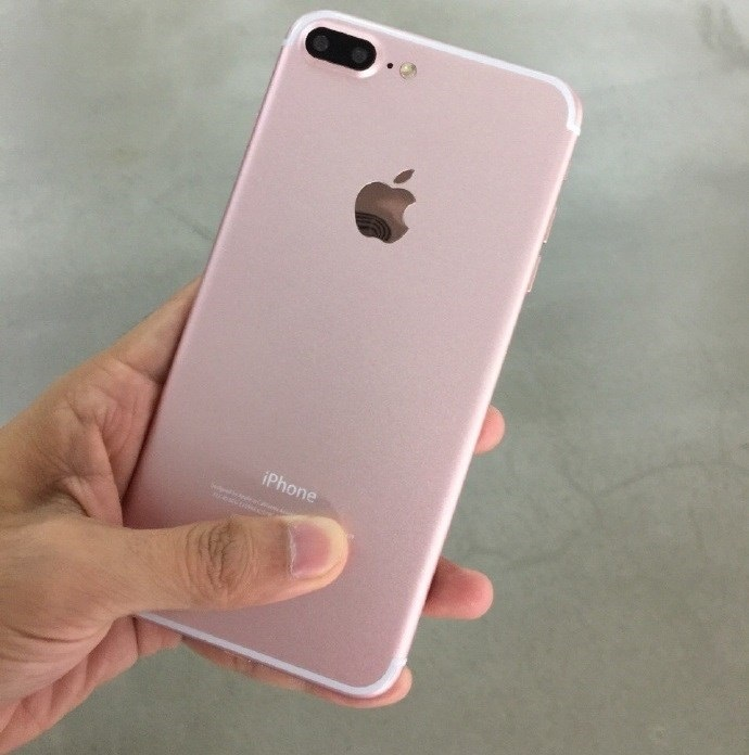 tons rosa do iphone 7