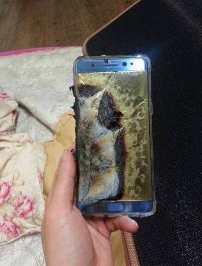 imagem do equipamento queimado