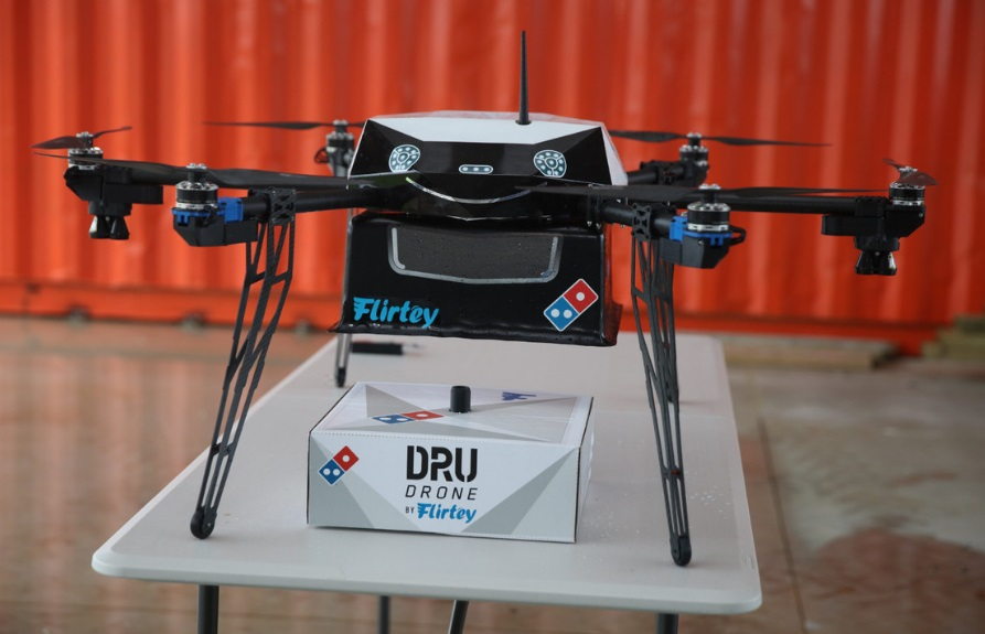 drone da Domino's