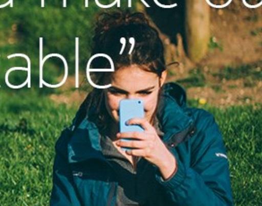 detalhe do smartphone