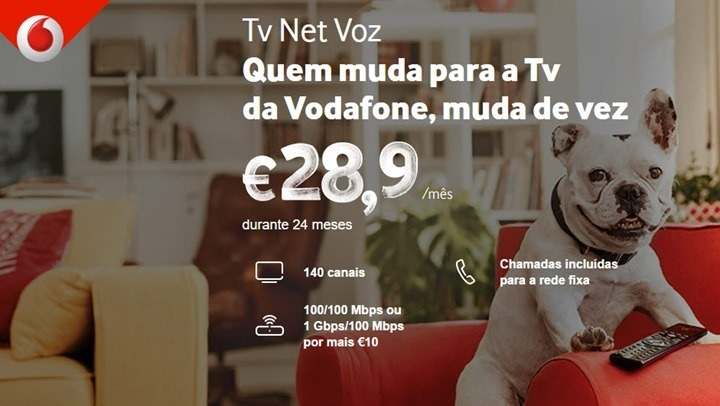Vodafone e novos planos