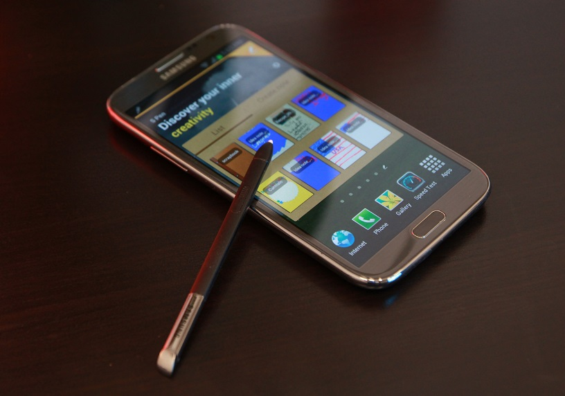 Samsung gaalxy note 2