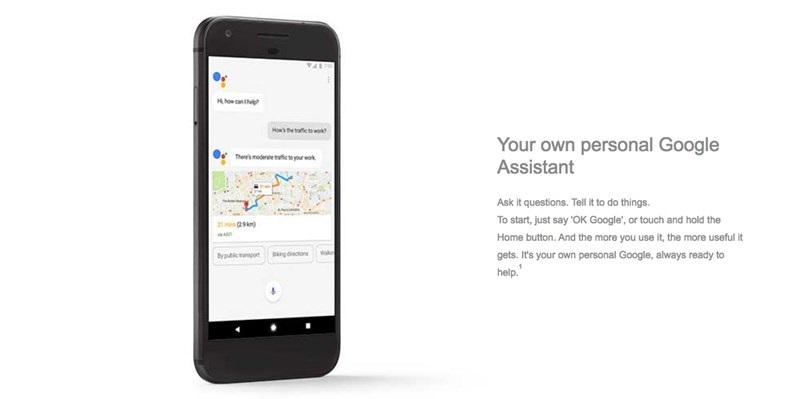 imagem do Google Assistant