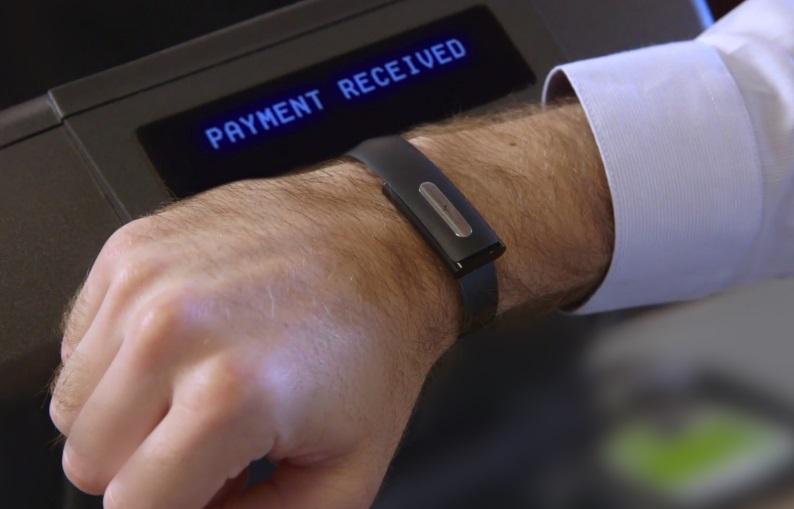 pagamento via pulseira