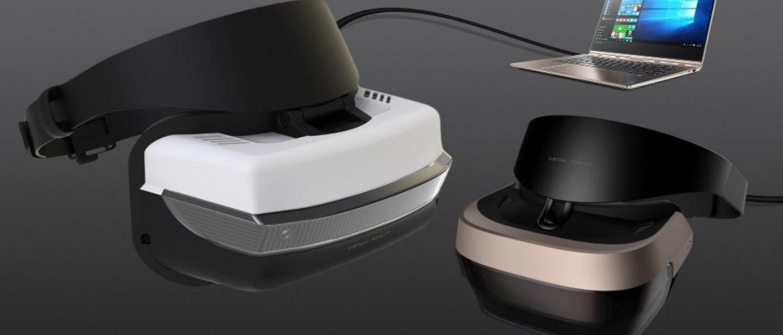 microsoft headset de realidade virtual