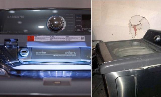 samsung maquina de lavar