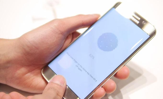 samsung e sensores de impressões digitais