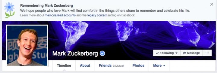 erro nos perfis do facebook
